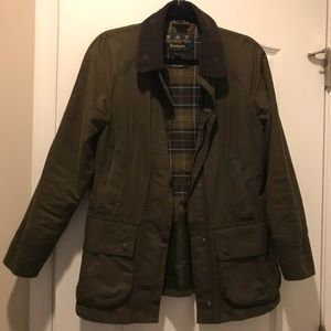 Barbour Coat, Size 6
